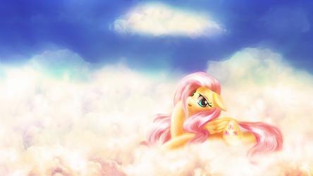 Dreamy Fluttershy by macalaniaa