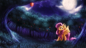 Fluttershy is hungry
