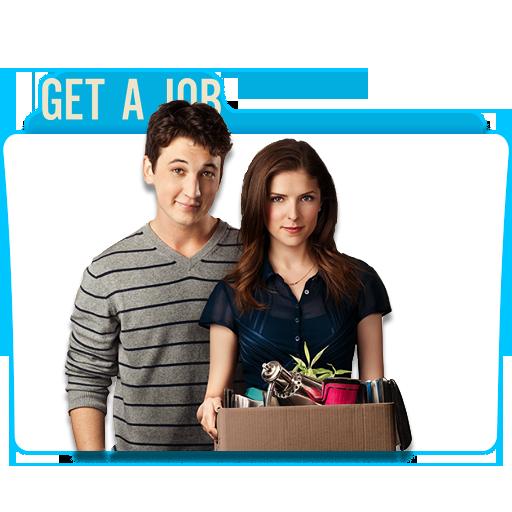 Get A Job 2016 Movie Folder icon by oufai