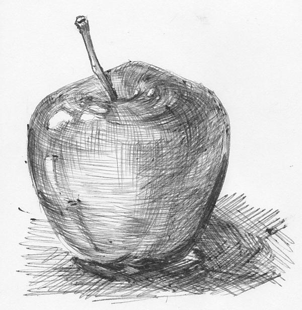Apple by MikomiJade