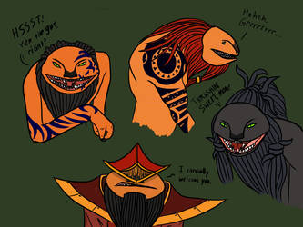 The Different Faces of: Horruskians by The-Second-Brother
