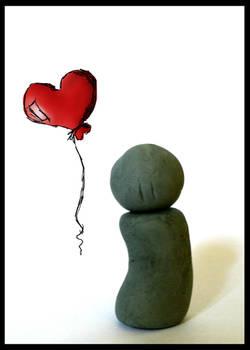 Mr. Eraser's Heart Balloon