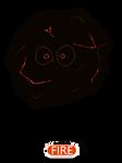 Fakemon: Magma Rock Pokemon