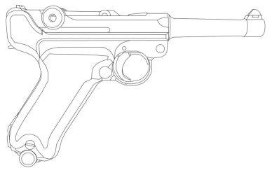 Luger P08 by TartTinter62