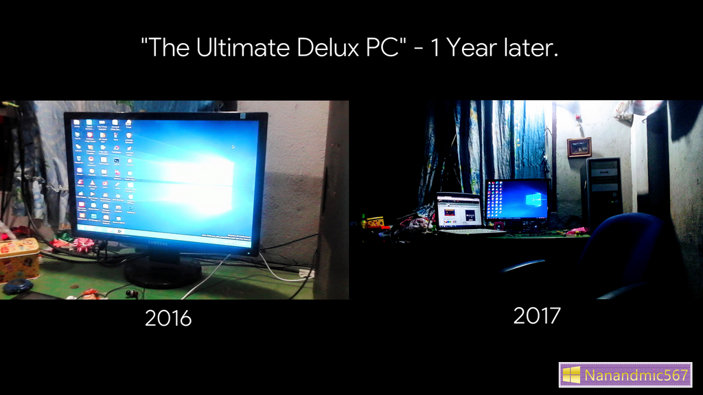 The Delux PC - 1 Year later. by nanandmic567