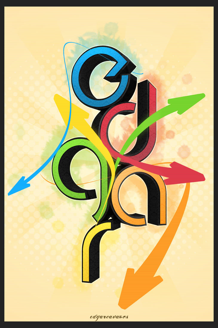 Poster design 3d - 3d Poster Design By Ecavazos09