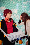Mystic Messenger 707 Main Character MC cosplay by MaiCosplay