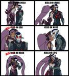 Entrapdak Kiss Meme