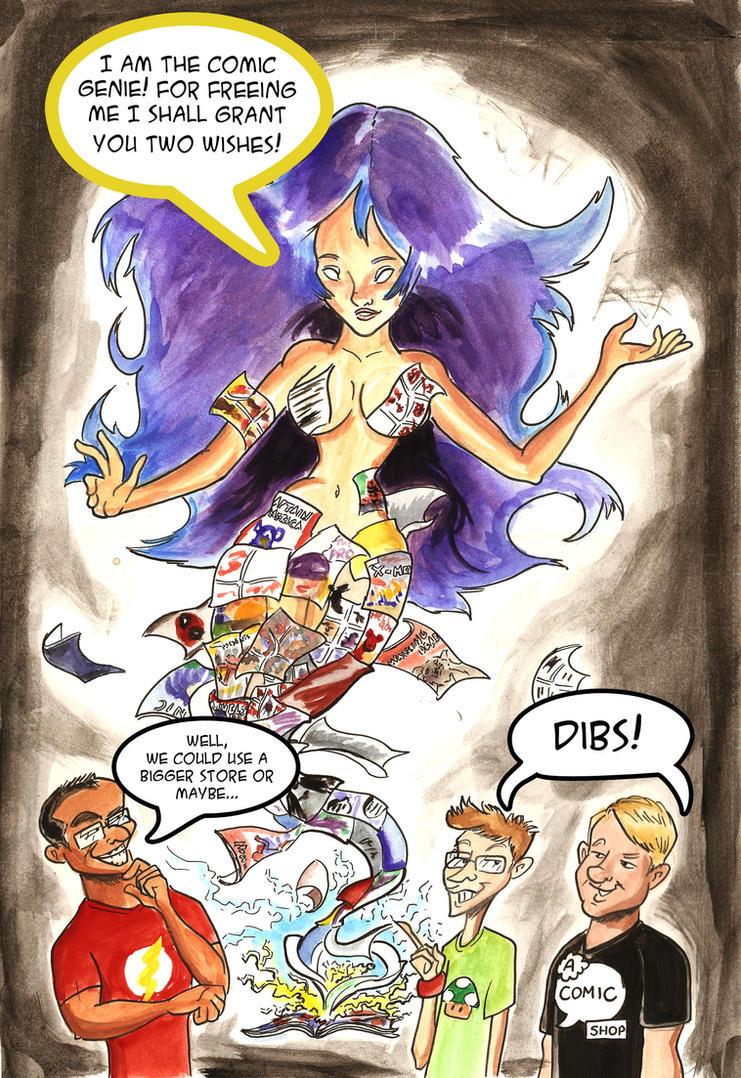 Comic Genie by RizzleG
