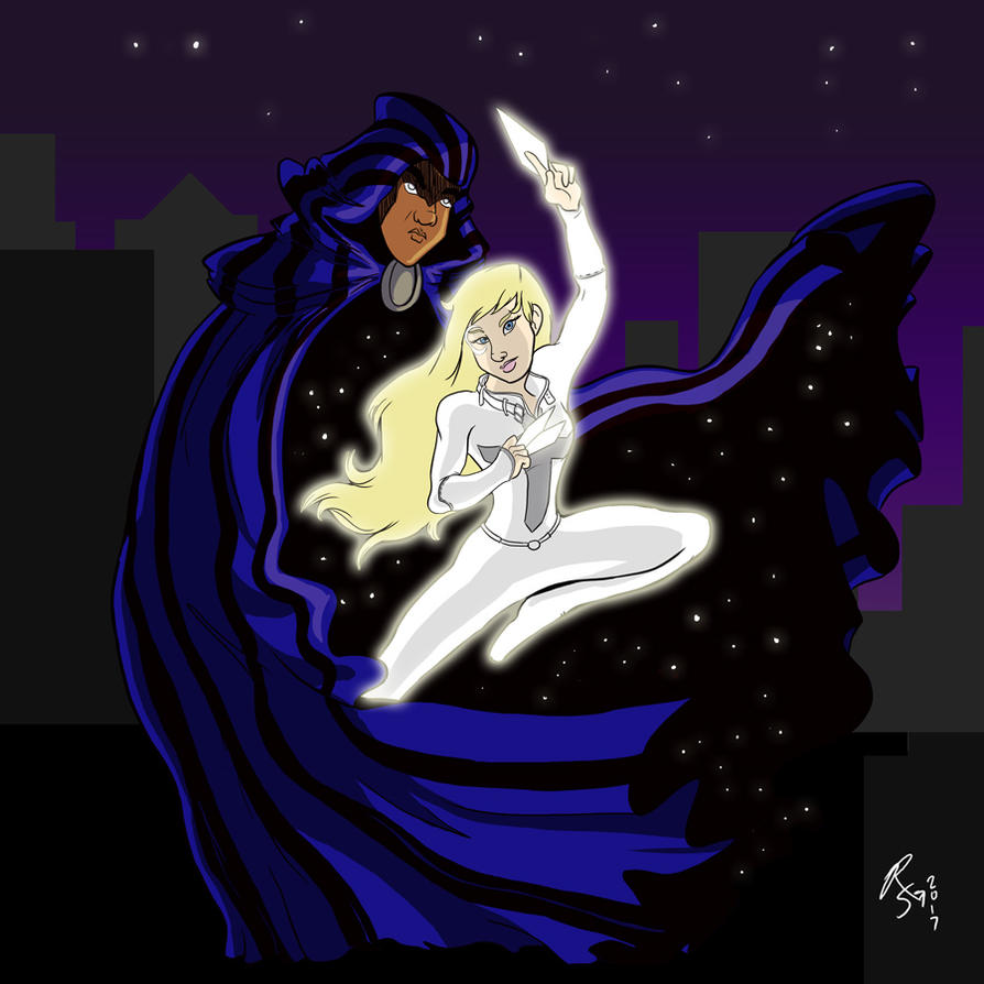 Marvelous Monday 61 - Cloak and Dagger (Color) by RizzleG
