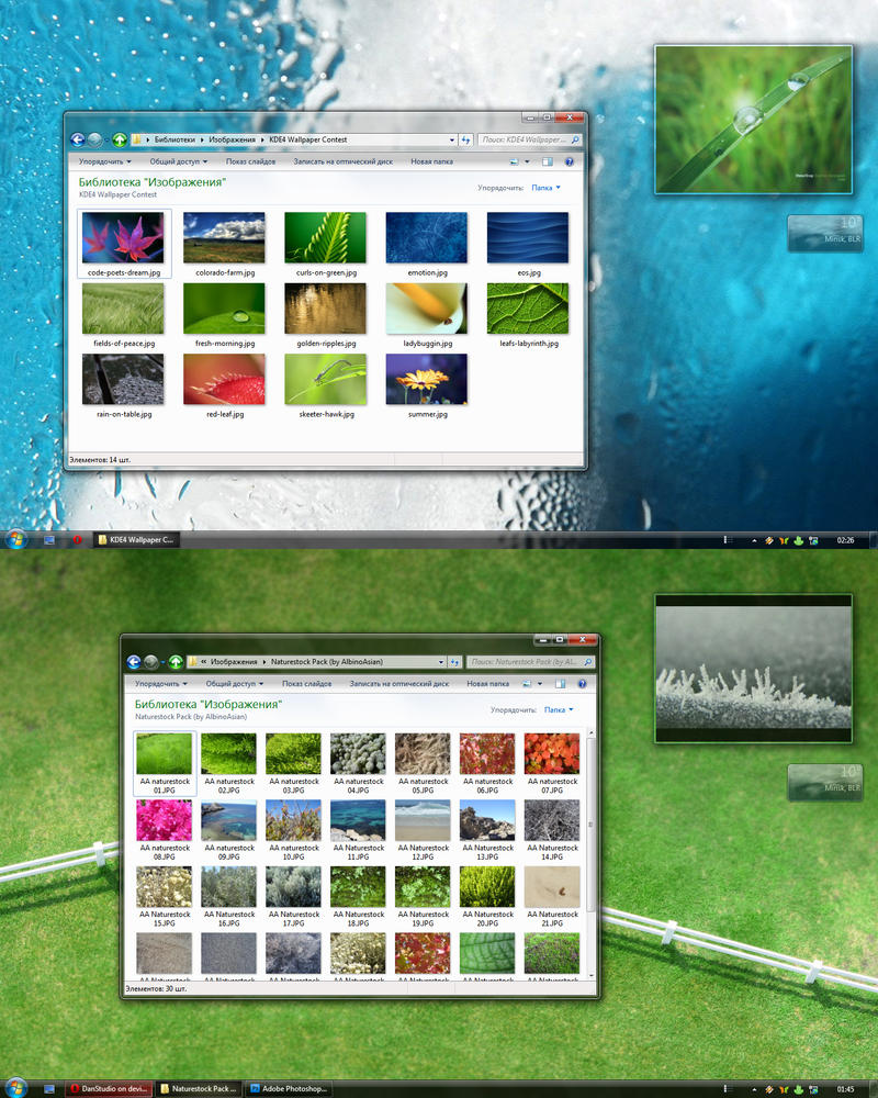 Aero DS style for Windows 7 by DanStudio