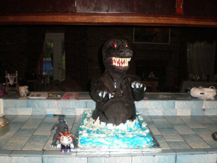 Godzilla Cake Walmart