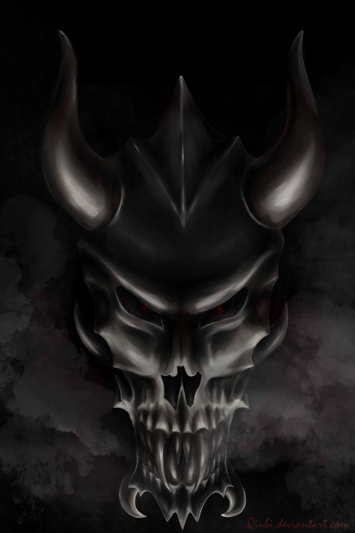Devil dragon skull xD by Qiubi on DeviantArt