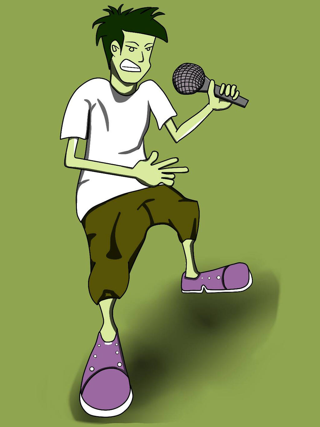 Adobe Flash Character Drawing By Fazlesam By Fazlesam0 On Deviantart