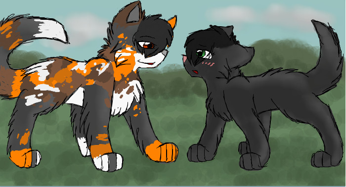 You Need Me Hollyleaf By CascadingSerenity