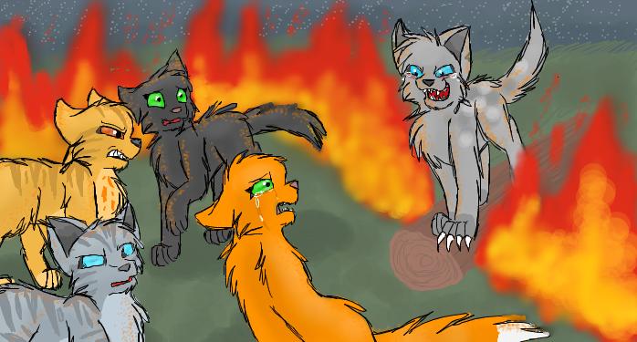 Warrior Cats Firestar Saving Brambleclaw