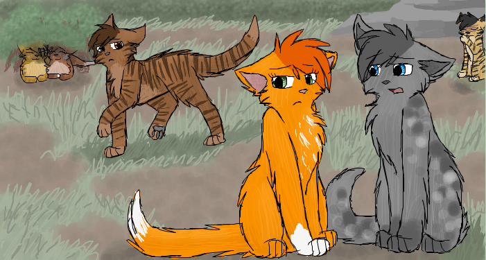Picture by CascadingSerenity     Warrior Cats Ashfur And Squirrelflight