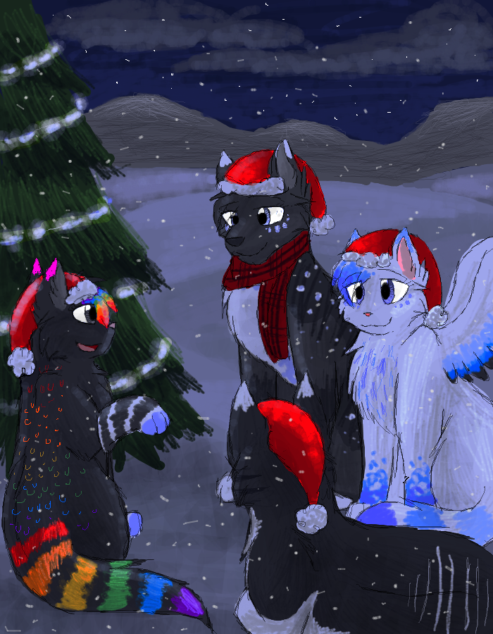 Christmas Story Telling by CascadingSerenity