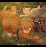 Honeyfern's Sacrifice by CascadingSerenity