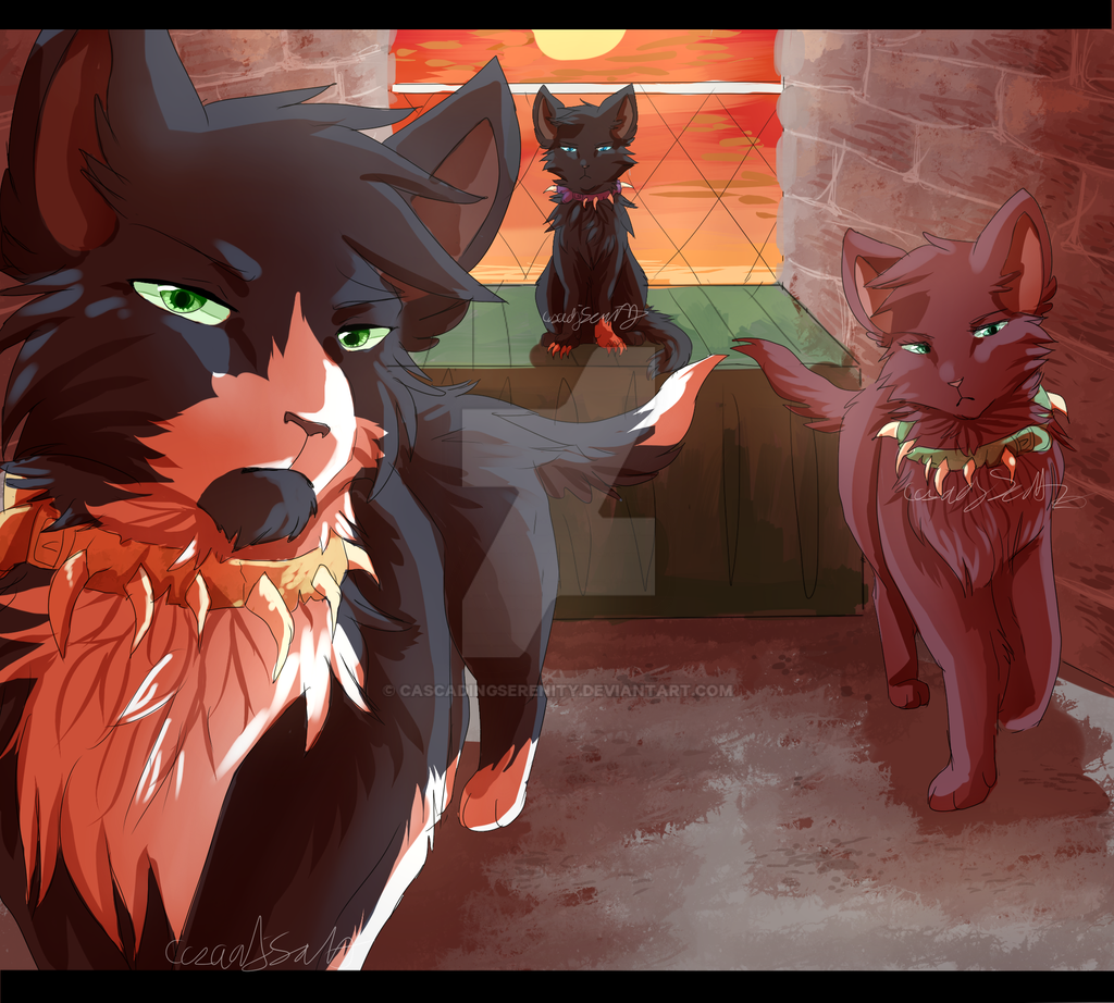 Warrior Cats Dawn Of The Clans Fanart: Welcome To Bloodclan By CascadingSerenity On DeviantArt