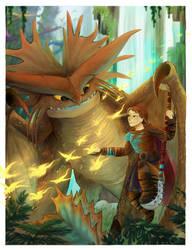 Dragon Sanctuary by CascadingSerenity