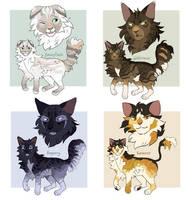 Warrior Cats Adopts 6 - OTA (CLOSED)