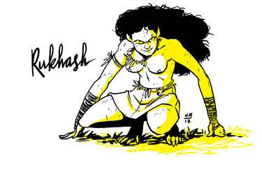 Rukhash Quickdraw by helena-markos