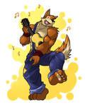 wuffle dance~