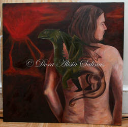 Dragon's Grace by SilverArtist1
