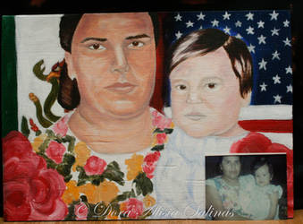 Proud Mexican and Proud American by SilverArtist1