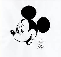 Mickey Mouse head study