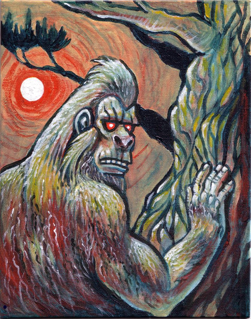 Bigfoot by chasmosaur