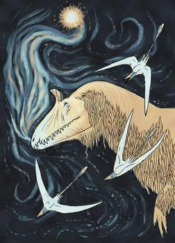 Long Jurassic Nights by chasmosaur