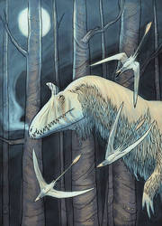 Long Jurassic Nights, ver. 2 by chasmosaur