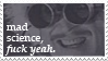 Mad Science Stamp by chasmosaur