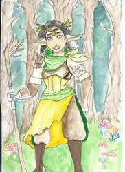 elf Druid by chitra15