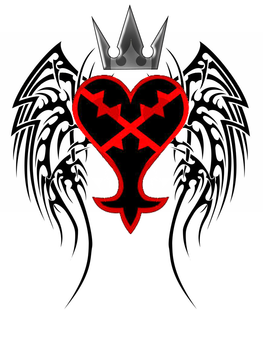 Kingdom Hearts Tattoo By Aielion On Deviantart Heartless Nobody