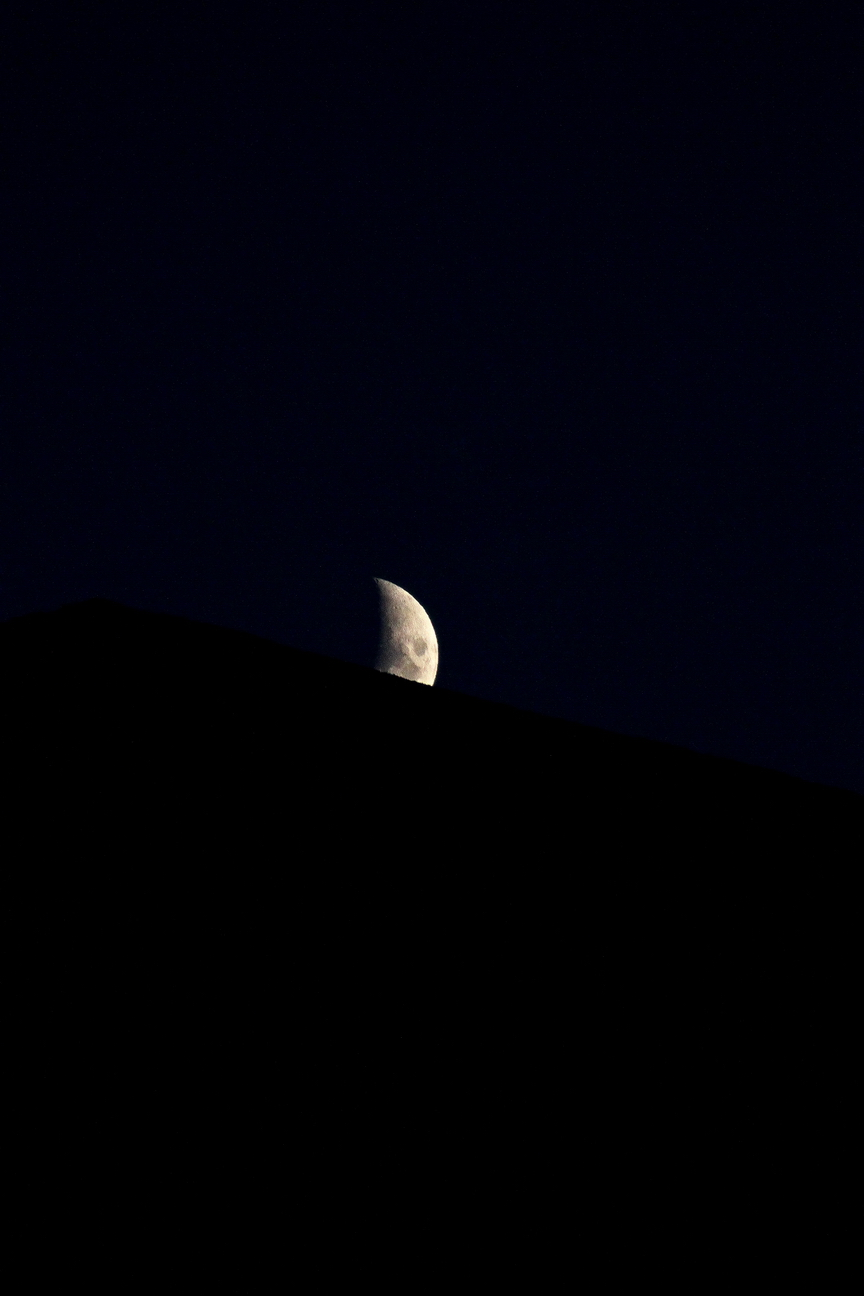 The moon by manuroartis