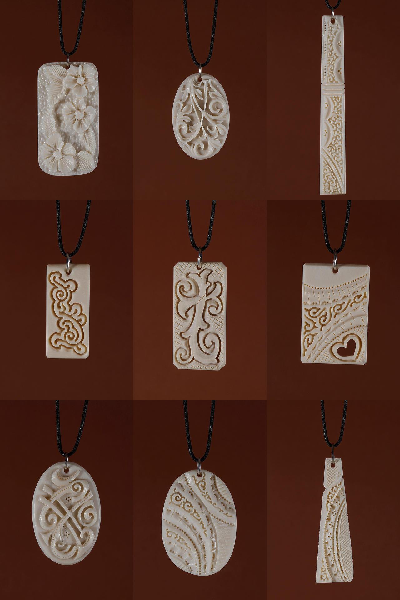bone jewelry 24 by manuroartis