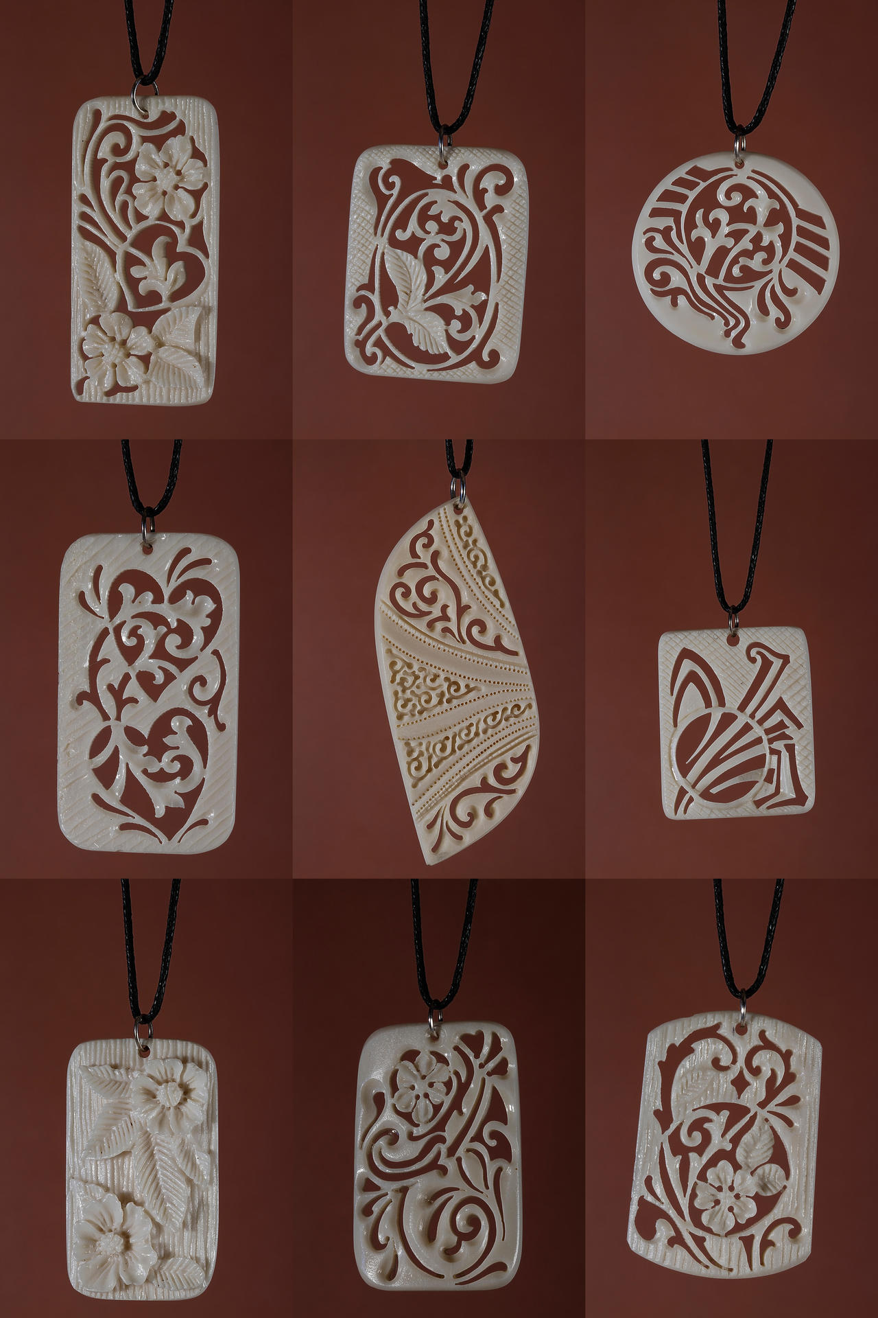 bone jewelry 33 by manuroartis