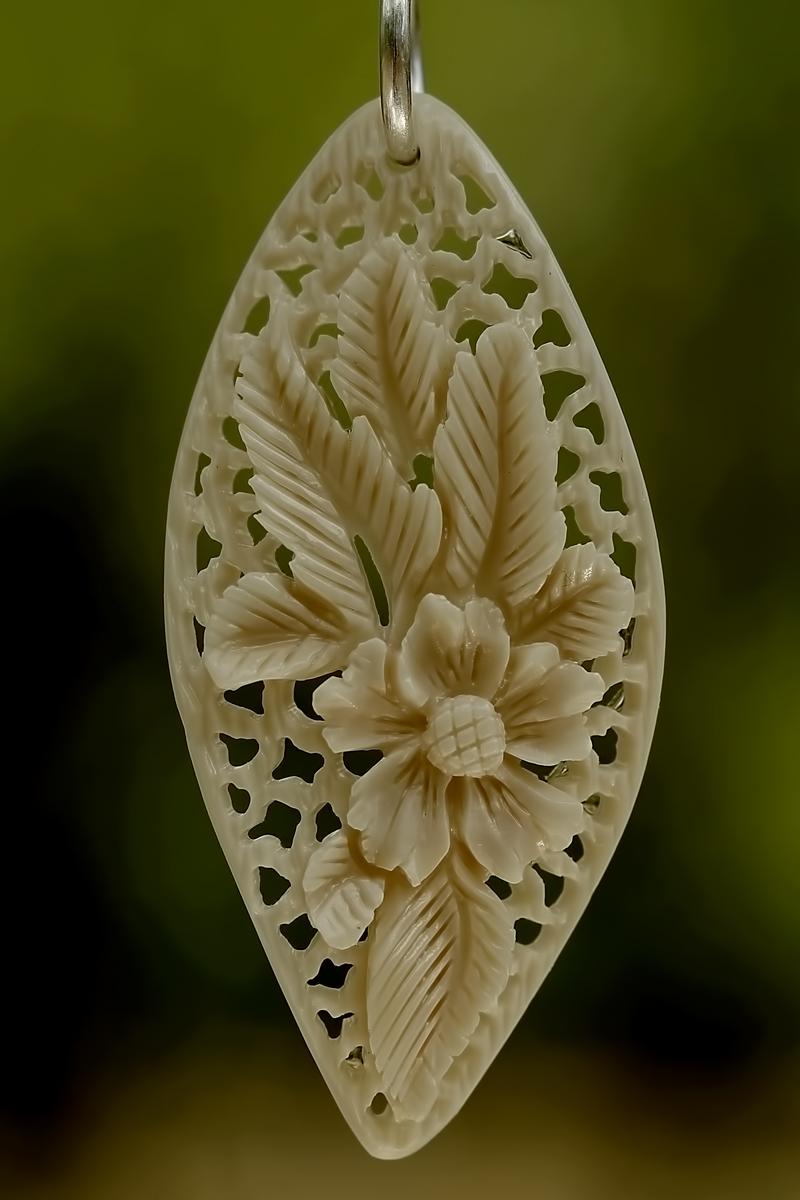 Pendant bone carving by manuroartis on deviantart