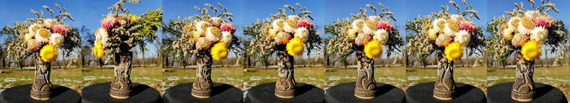 miniature flower vase 13
