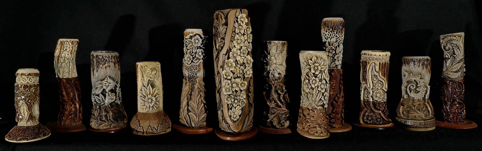 miniature vases for wild flowers