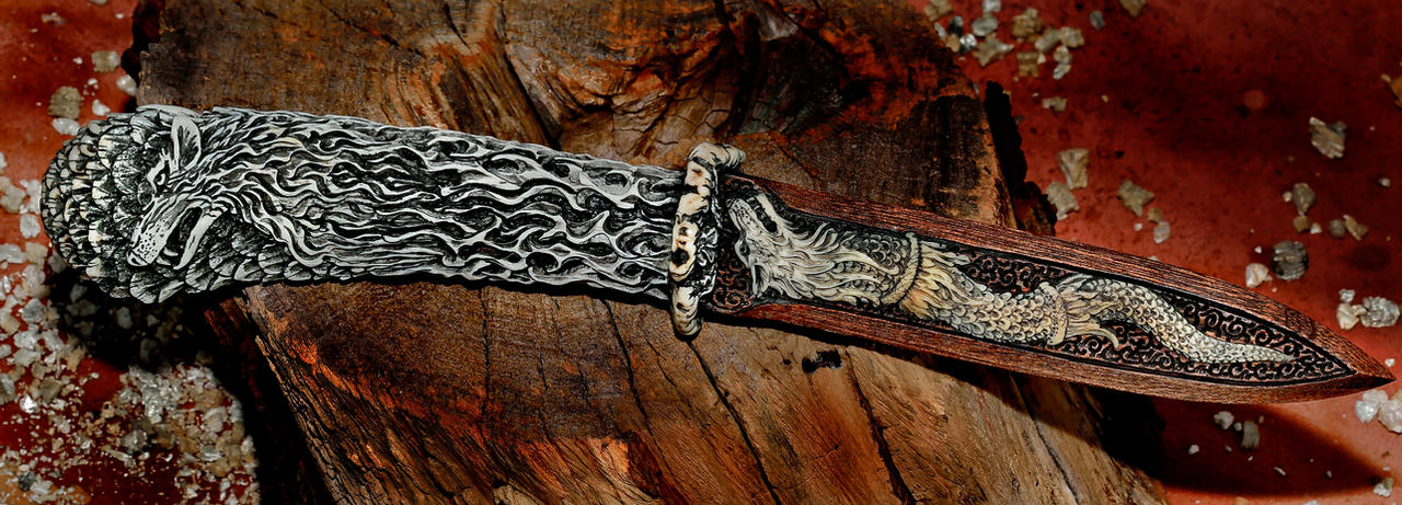 decorative knife by manuroartis