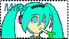 Miku stamp for shadowiscool123 by FumikoMiyasaki