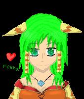 Feena pixel by FumikoMiyasaki