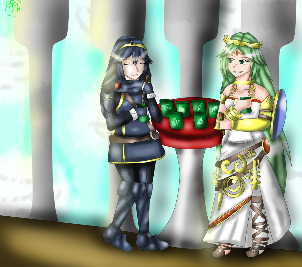 Palutena And Lucina