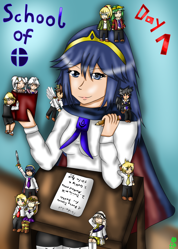 School of Smash- Cover by FumikoMiyasaki