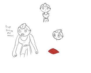 Gem doodles by O-kra