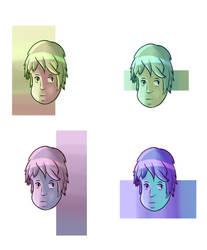 Color Study by O-kra